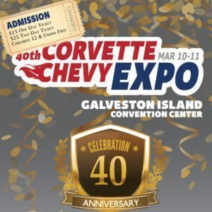 Click Here for Corvette Chevy Expo Discount Tickets
