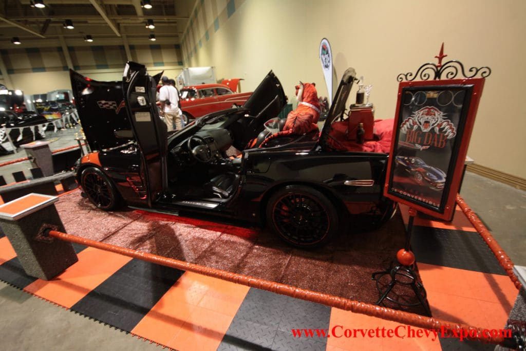 Corvette Chevy Expo at the Galveston Island Convention Center, Texas Features World Class Chevrolet Show Cars