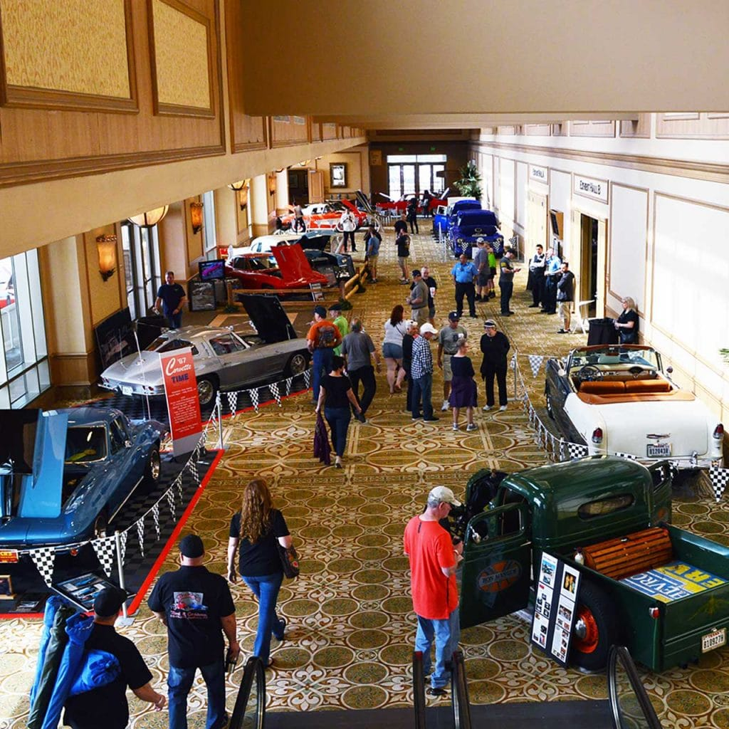 The Corvette Chevy Expo is an annual auto show held in Galveston, Texas, U.S., at the Galveston Island Convention Center. The event is held annually in March and is among the largest indoor All Chevy Concours Shows in Texas. The next Expo is March 14 & 15, 2020.