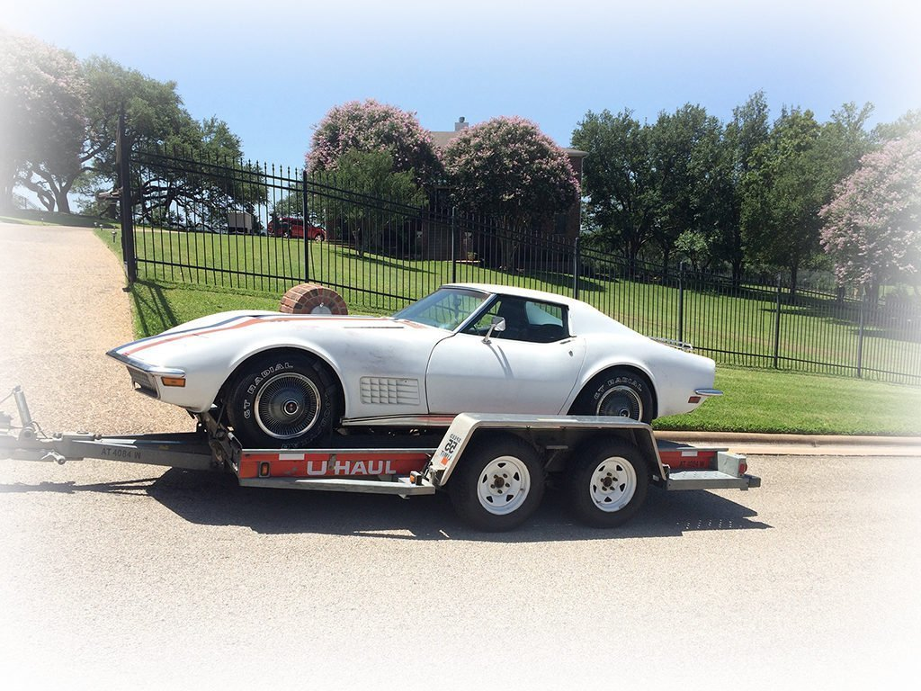 Barn Find Reveal: Apollo 15 Astronaut Corvette Found