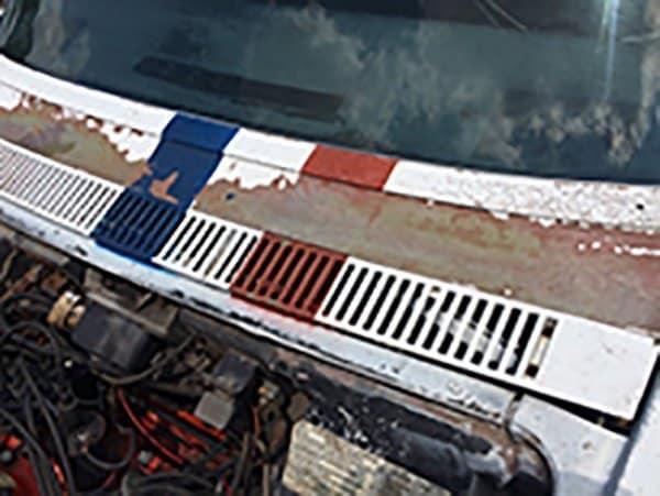 Alfred Worden's 1971 Apollo XV Corvette's will need some paint!