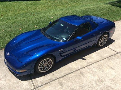 John Cox's Corvette