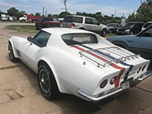 Alfred Worden's 1971 Apollo XV Corvette