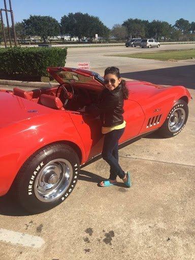 David Garza's Corvette