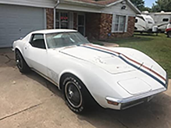 Alfred Worden's 1971 Apollo XV Astronaut Corvette was recently found and was located in a small camper & used car lot in Austin Texas.