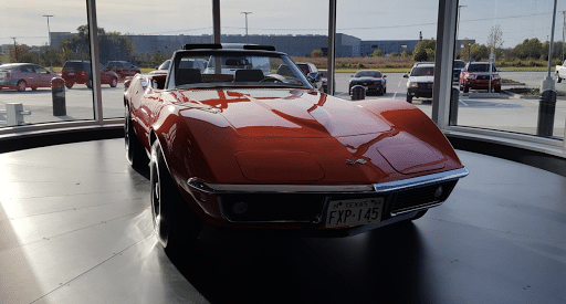 Julio Toro's Corvette