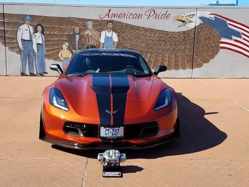 Gary Hollander's Corvette