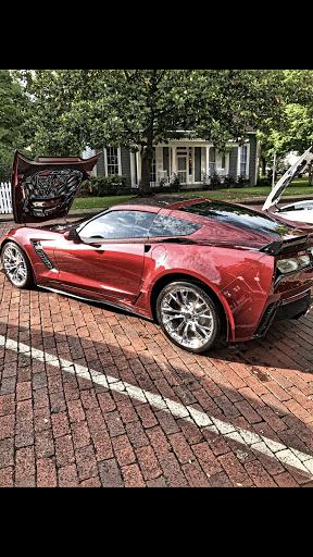 Kirk Weidman's Corvette
