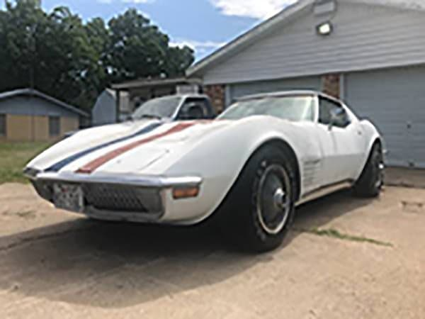 Alfred Worden's 1971 Apollo XV Astronaut Corvette was recently found by Danny Reed who also found the Alan Bean's 1969 Apollo XII Astrovette 46 years earlier.