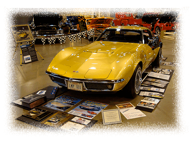 Alan Bean's 1969 Apollo XII Corvette