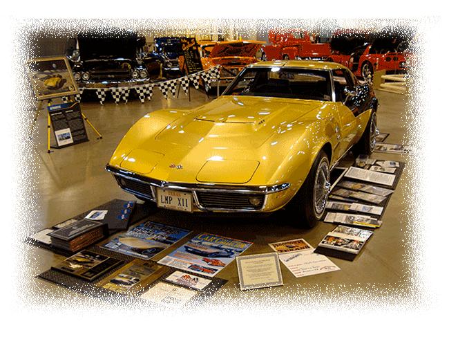Alan Bean's 1969 Apollo XII Corvette