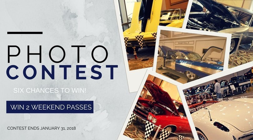 Upload your photo of your Corvette, Camaro or Classic Chevy for a chance to win TWO WEEKEND PASSES to the 40th Corvette Chevy Expo.