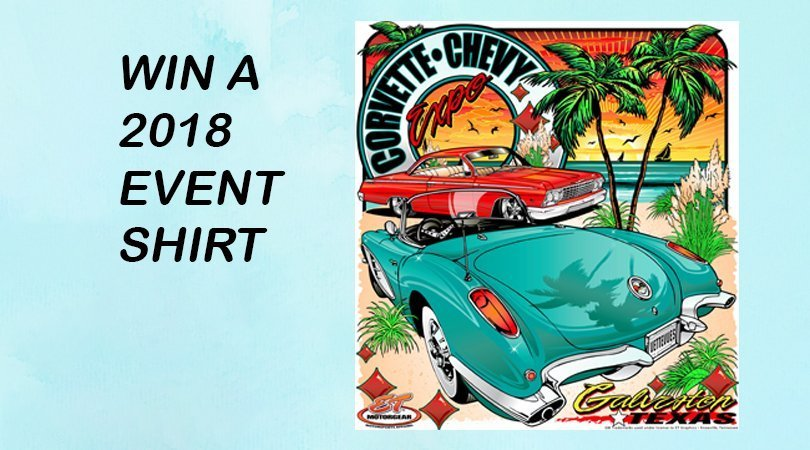 Passionate Chevy Photo Contest: We are giving away 3 Corvette Chevy Expo Event Shirts in our photo contest.