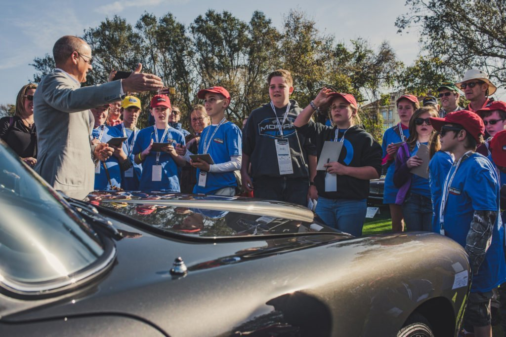 Youth Judging - Amelia Island 2017 - Aston Martin