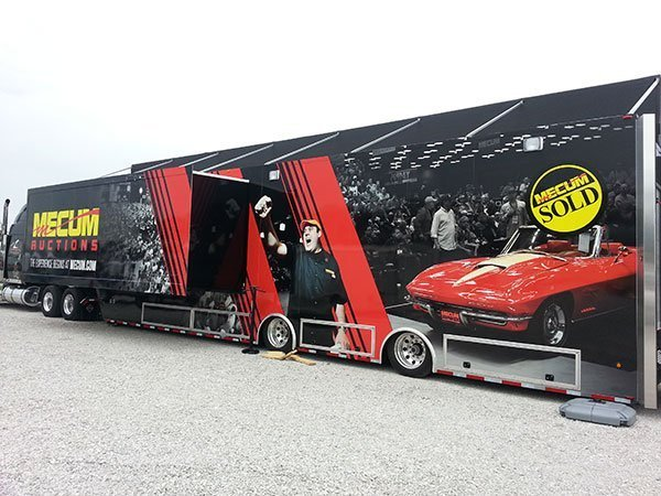 Mecum Mobile Experience Rolling Into Galveston for the Corvette Chevy Expo