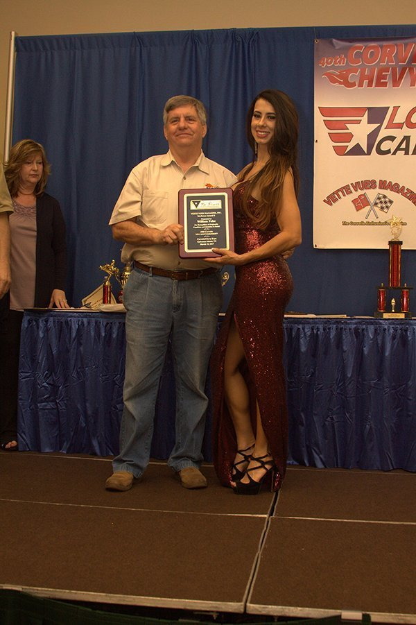 TRI-POWER AWARD at the Corvette Chevy Expo held at the Galveston Island Convention Center March 11, 2018.