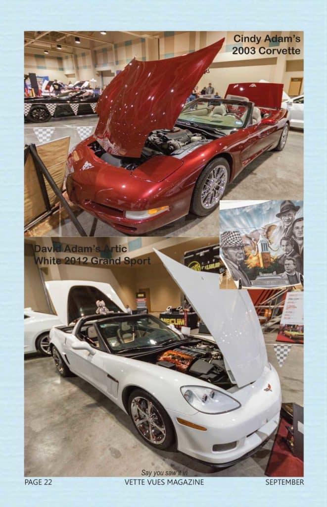 Vette Vues Magazine coverage of the 2018 Corvette Chevy Expo held at the Galveston Island Convention Center, in Galveston Texas.