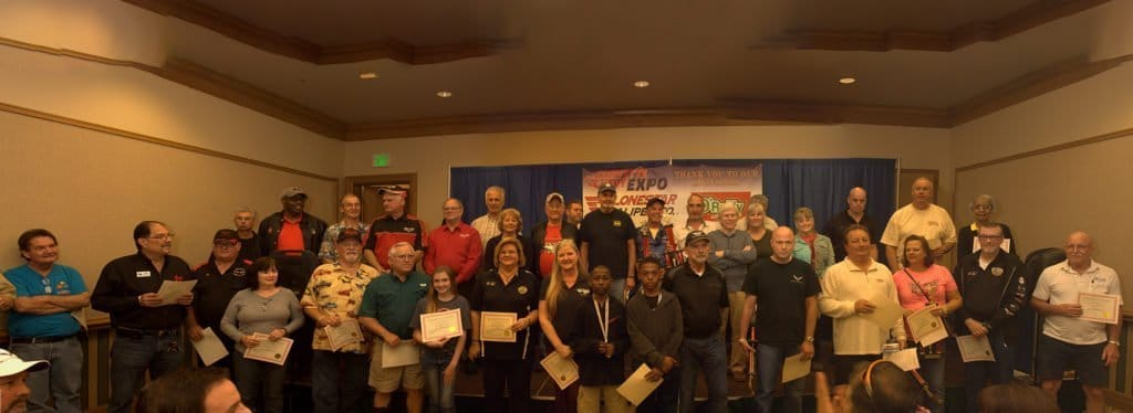 Awards Ceremony at the Corvette Chevy Expo, held at the Galveston Island Convention Center March 11, 2018.
