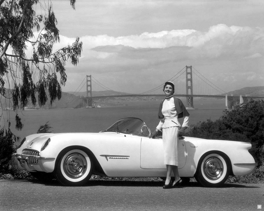 1953 Chevrolet Corvette Motorama Show Car. Photo Courtesy of General Motors Heritage Center