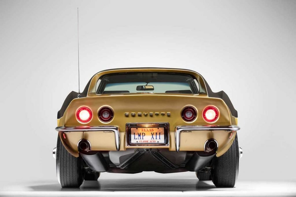 The back of Alan Bean's Astrovette Corvette. Photo Credits: Historic Vehicle Association