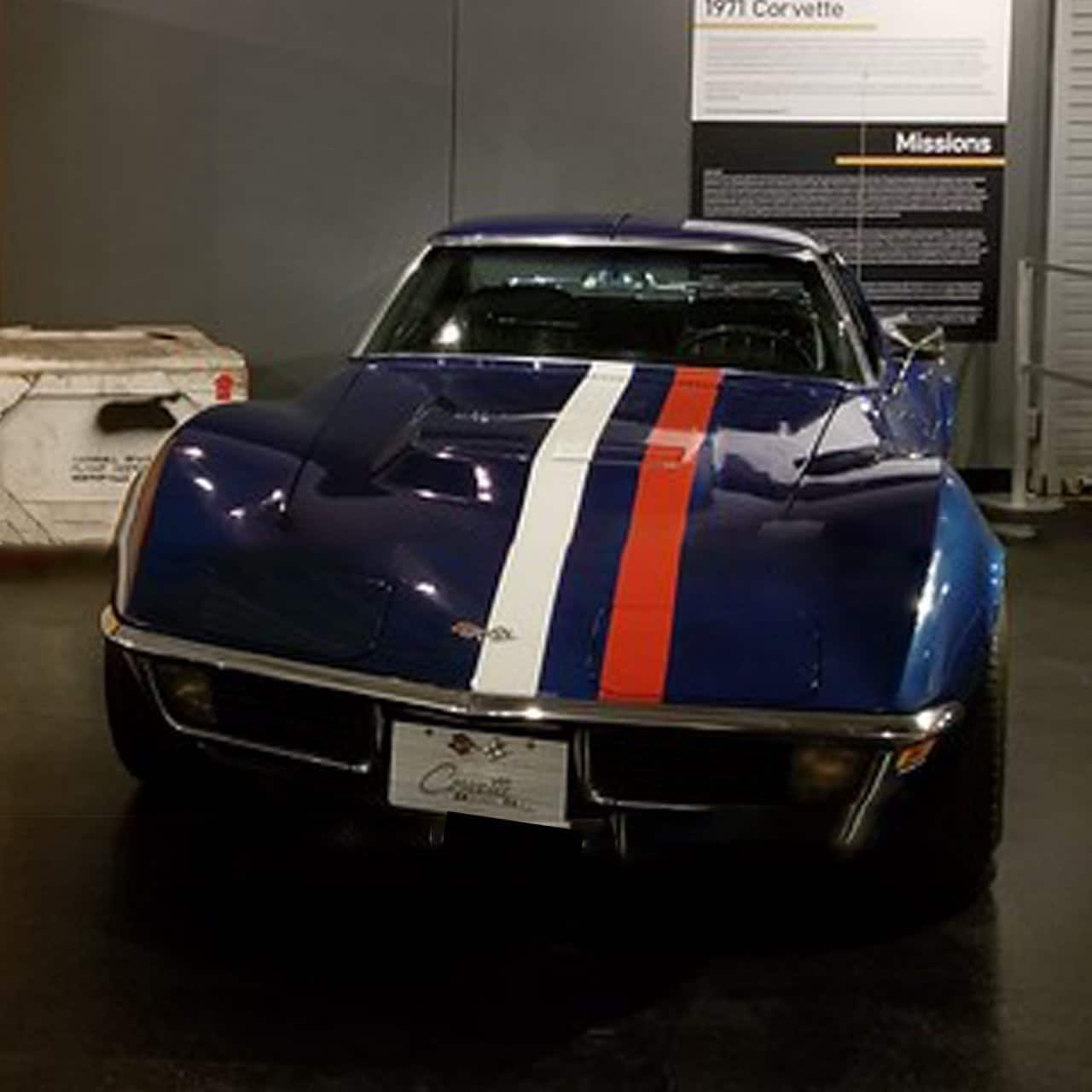 Our Featured Corvette was Dave Scott's Apollo 15 Corvette, as recently displayed at the National Corvette Museum.