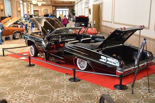 Corvette Chevy Expo held in Galveston, Texas, in March and is among the largest indoor All Chevy Concours Shows in Texas. March 13 and 14, 2021.