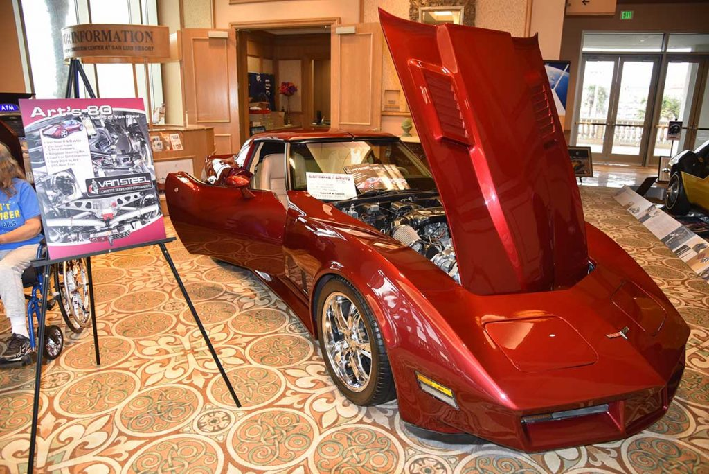 The Corvette Chevy Expo is held at the Galveston Island Convention Center which has room for about 135 Show Cars and Special Show Car Displays. Pre-registration is required and we will sell out. Once we are sold out we will be taking backup names to fill in for any cancellations.