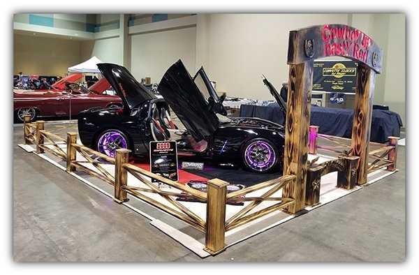 At the Corvette Chevy Expo 2020 in Galveston, Texas, they won Best of Show Display and Best in Class for the C6 Customs.