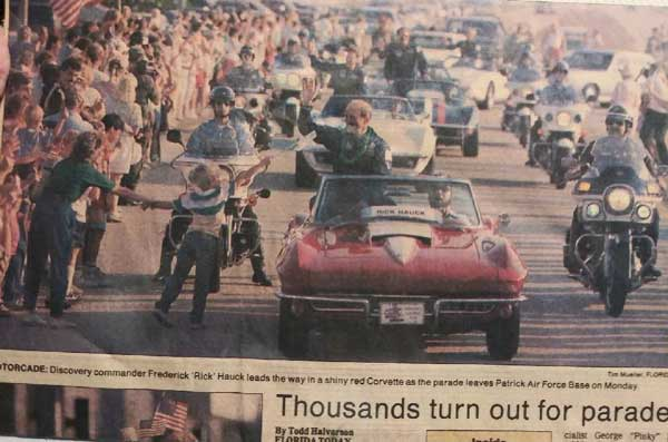 Parade Photo from October 22, 1988 Orlando Sentinel Newspaper Article