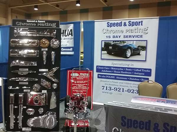 Corvette Chevy Expo Commercial Vendors